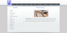 Custom built corporate portal for Unicorn Industries